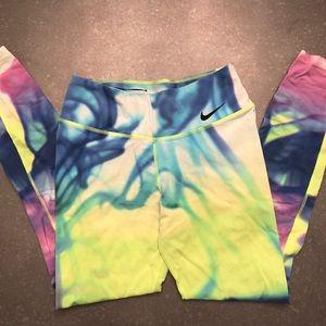 Nike Rainbow Tye Die Leggings